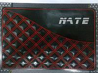 Автомобильный коврик липучка NATE, red 1 (215x145)
