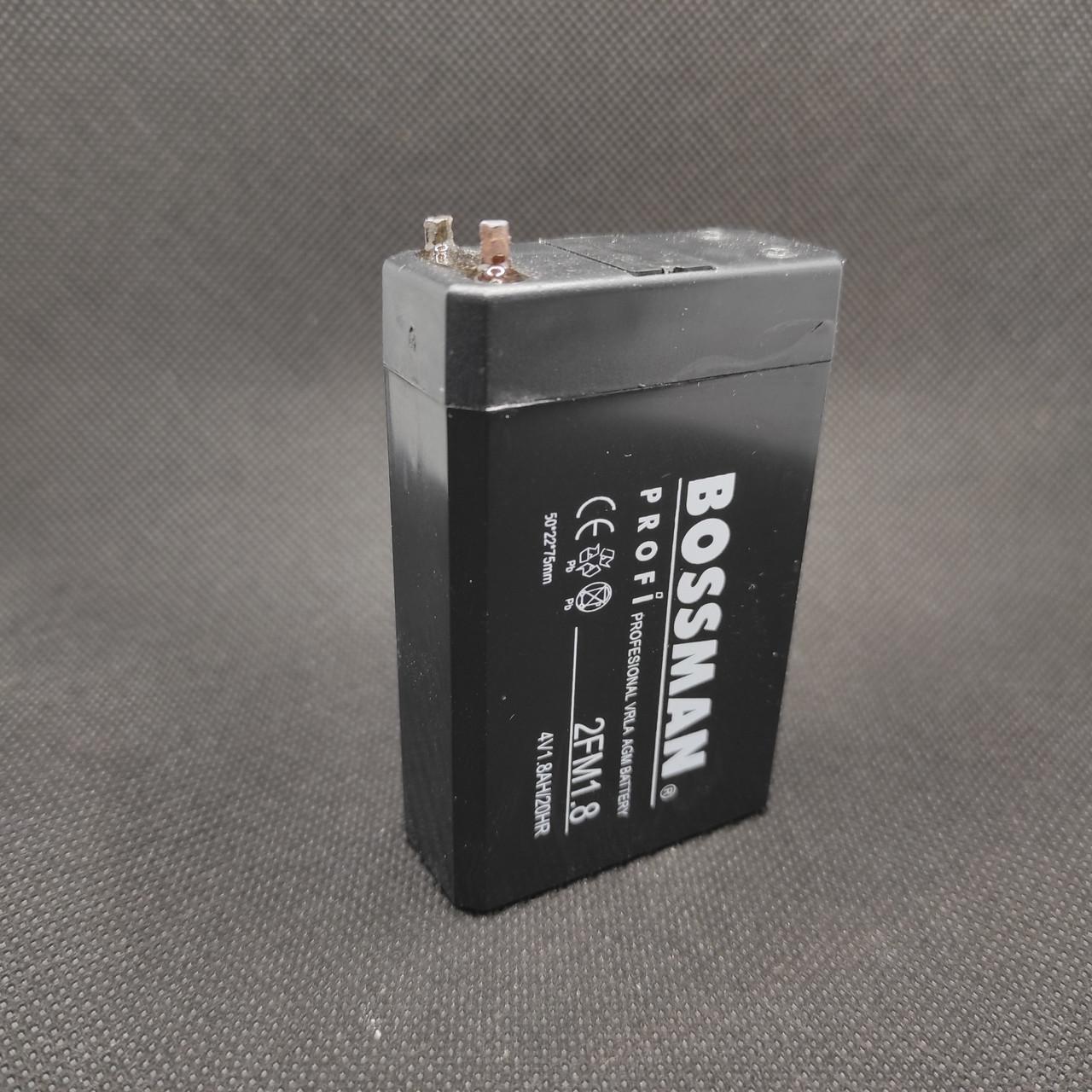 Аккумулятор Bossman 2FM1.8 ( 4V 1800mAh )