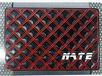 Автомобильный коврик липучка NATE, red 2 (215x145)