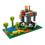 Конструктор LEGO Minecraft Питомник панд 204 детали (21158), фото 3