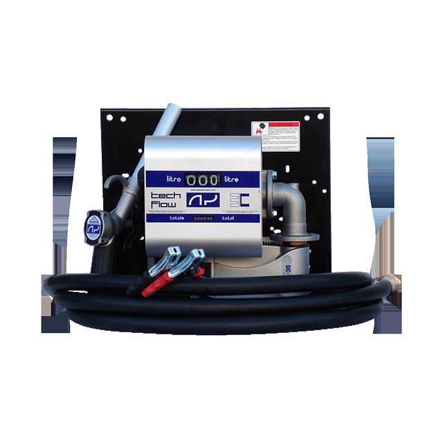Мобільна перекачувальна станція для дизельного палива з витратоміром WALL TECH 40, 12В, 40 л/хв
