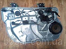 Стеклоподъемник передний левый электрический Volkswagen Polo 9N   6Q4 837 755 , 6Q2 959 802 F