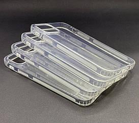 Чехол на iPhone 12 Pro Противоударный силиконовый прозрачный