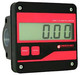 Електронний лічильник палива, легких масел - MGE-110, 5-110 л/хв (Gespasa)