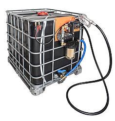 Мобільний паливний заправний модуль для ДП на базі Еврокуба, 1000 літрів, 12 вольт