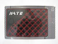 Автомобильный коврик липучка NATE, red 4 (215x145)