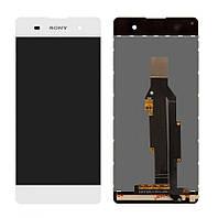 Дисплей для Sony F3112 Xperia XA | F3111 | F3113 | F3115 | F3116 с сенсором (Белый) Оригинал Китай