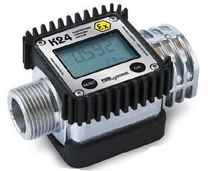 """K24-A M/F 1"""" BSP (PIUSI) – лічильник обліку палива. Дизель."""