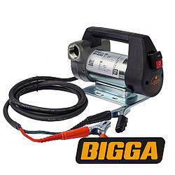 Bigga BP-DC65 – насос для перекачки дизельного топлива. Питание 12В/24В. Продуктивность насоса 45/65 л/мин.