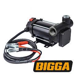 Bigga BP-DC80-24 Насос для перекачивания ДТ, Питание 24 вольт, производительность 80 л/мин.