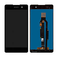 Дисплей для Sony F3311 Xperia E5 с сенсорным стеклом (Черный) Оригинап Китай