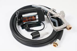Bigga Alpha AC-45 – комплект для перекачування дизельного палива, 220В, продуктивність 45 л/хв. Автоматичний