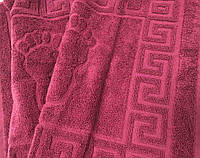 Полотенце-коврик Ножки вишня 45х70, фото 1