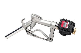 Механічний кран-лічильник для масла і дизельного палива