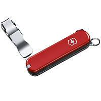 Кусачки для ногтей, мультитул Victorinox Nailclip (65мм, 4 функции), красный 0.6453