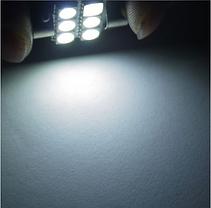 Светодиодная лампа для салона авто белый супер яркий 31 мм 5050 СМД 6 из светодиодов, фото 3