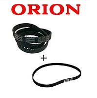 Комплект ремней для хлебопечки Orion OBM-206 (длинный и короткий)