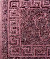 Полотенце-коврик Ножки марсала 45х70, фото 1