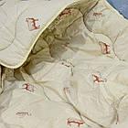 Одеяло шерстяное Полуторное стеганное Premium 140х205 Полуторное одеяло Осень Зима, фото 3
