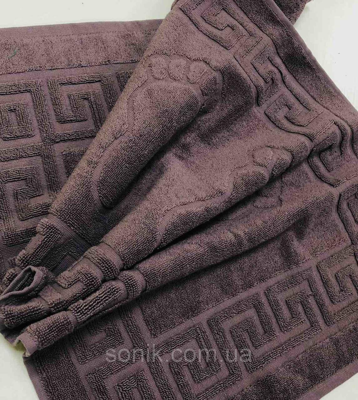 Полотенце-коврик Ножки мокко 45х70