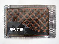 Автомобильный коврик липучка NATE, yellow 2 (215x145)