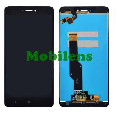 Xiaomi Redmi Note 4X, Snapdragon, Note 4 Global Version (Model: 2016102) Дисплей+тачскрін(модуль) чорний, фото 2