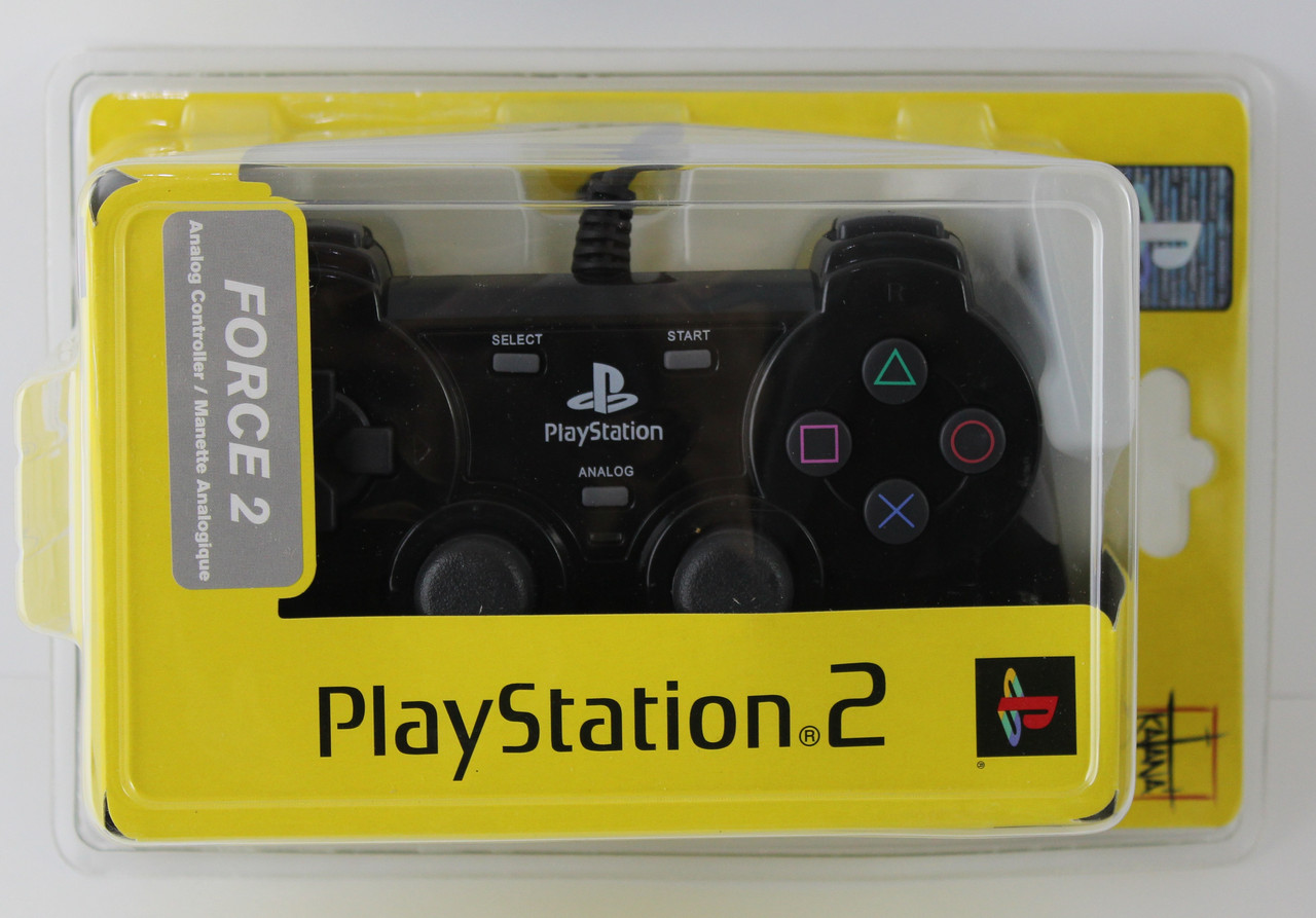"""HAMA Controller """"Black Force"""" for PS2"""