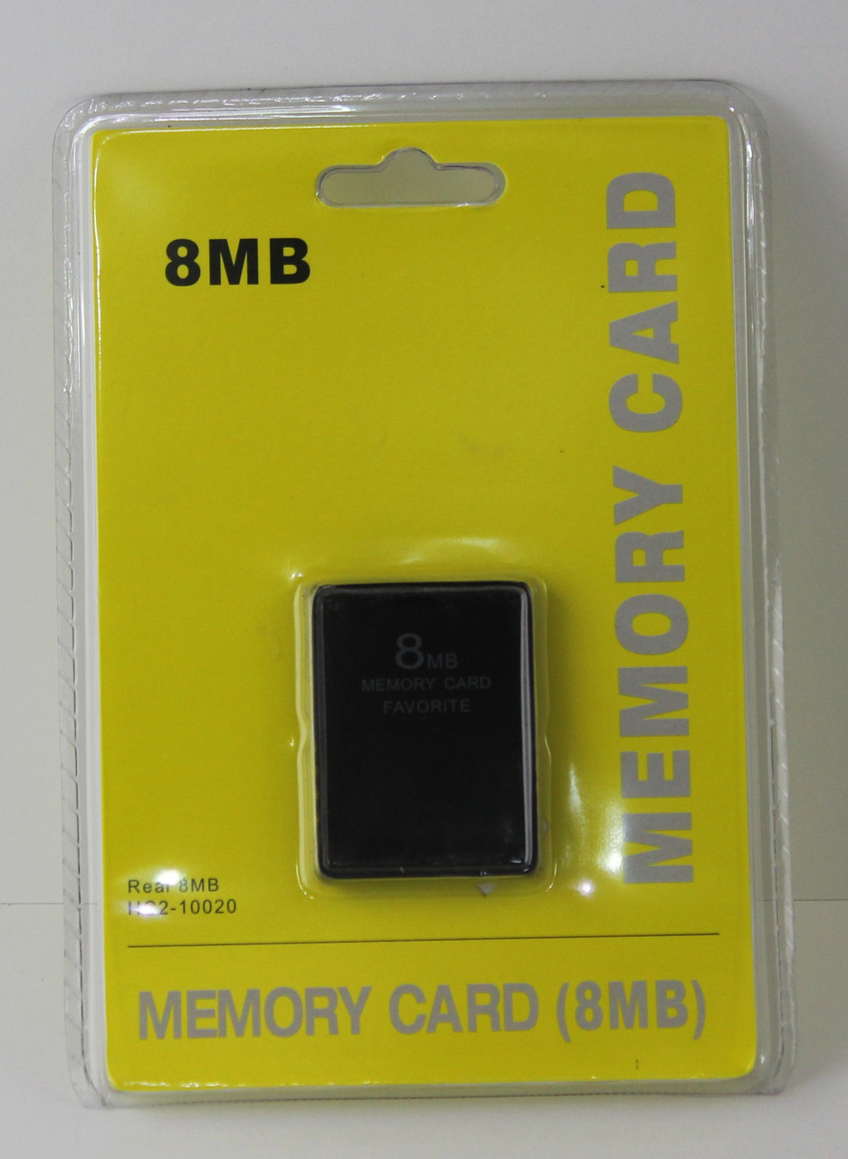 Карта памяти 8 MB PS2,Sony Memory Card 8Mb PS2