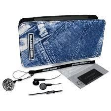 Набір з Джинсовим чохлом для PSP Slim Black-Horns (BH-PSP02601)