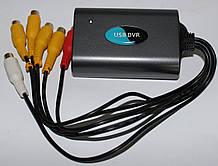 Видеорегистратор 4-х канальный USB