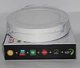 Стельова LED лампа накладна, кругла, фото 2