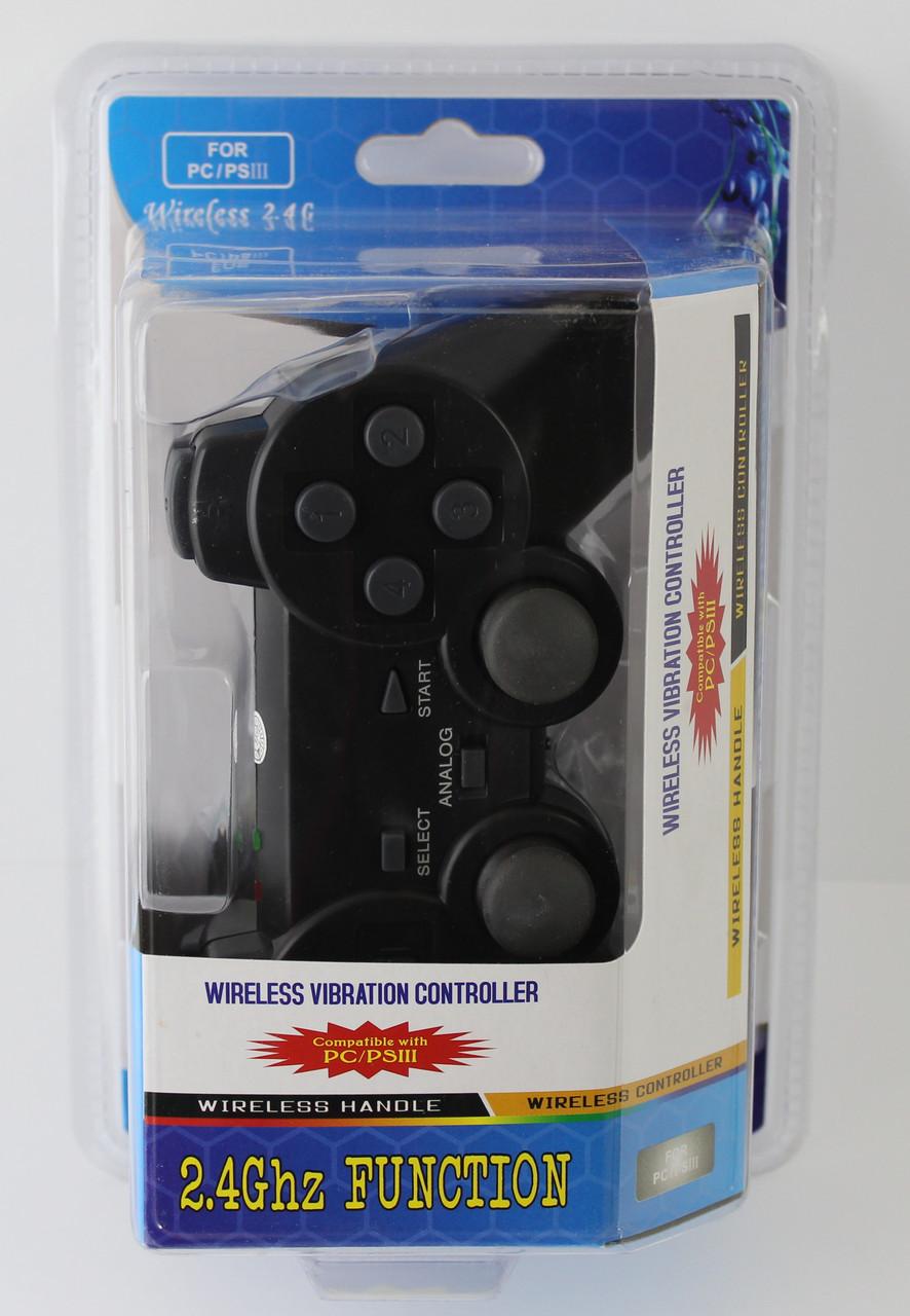 Джойстик безпровідний 706 2.4 G для PS3+PC
