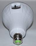 LED лампа с резервным питанием двойной аккумулятор, фото 4