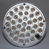 LED лампа с резервным питанием двойной аккумулятор, фото 5