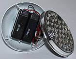 LED лампа с резервным питанием двойной аккумулятор, фото 6
