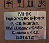 Видеорегистратор IP 16-канальный N6616H, фото 4