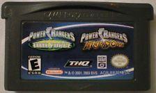 2в1 Power Rangers Double Pack Game Boy Advance