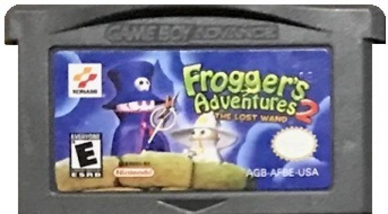 Картридж GBA FROGGER'S ADVENTURES 2 - THE LOST WAND