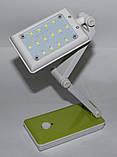 LED настольная лампа с резервным питанием, фото 5