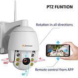 Камера  5xzoom PTZ IP WiFi 1080 P 2MP двухсторонним аудио, фото 4