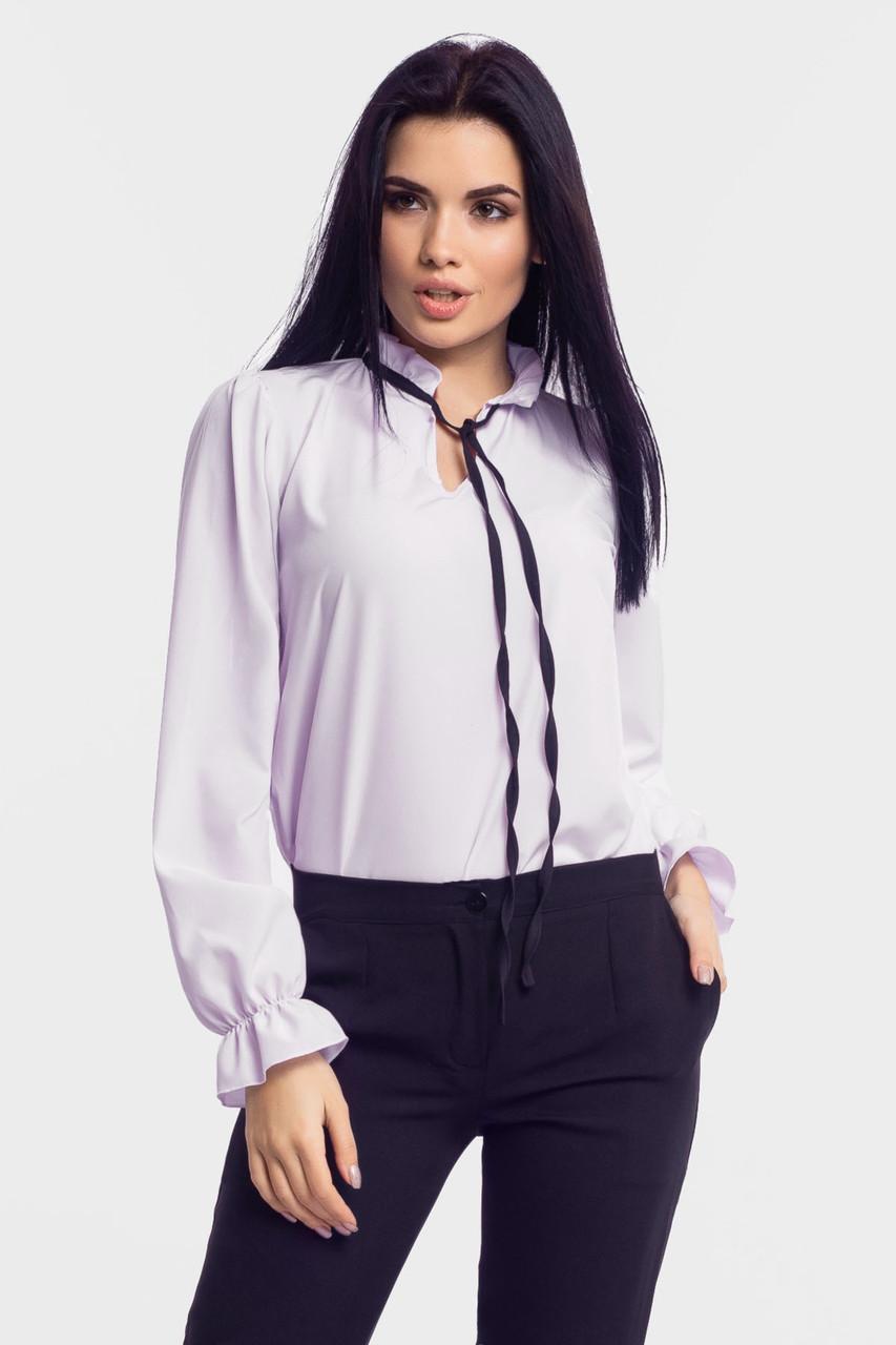Молодежная женская блузка Nataly, белый