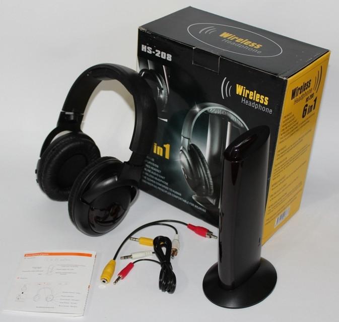 Бездротові навушники 6 в 1 HS — 208