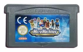 Игровой картридж для GAME BOY ADVANCE Micro Machines (GBA)
