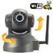 Безпроводная (WI-FI) проводная IP камера с возможностью удаленного управления, ночное видение