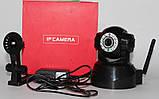 Безпроводная (WI-FI) проводная IP камера с возможностью удаленного управления, ночное видение, фото 3