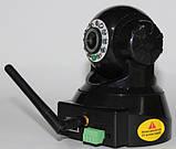 Безпроводная (WI-FI) проводная IP камера с возможностью удаленного управления, ночное видение, фото 6