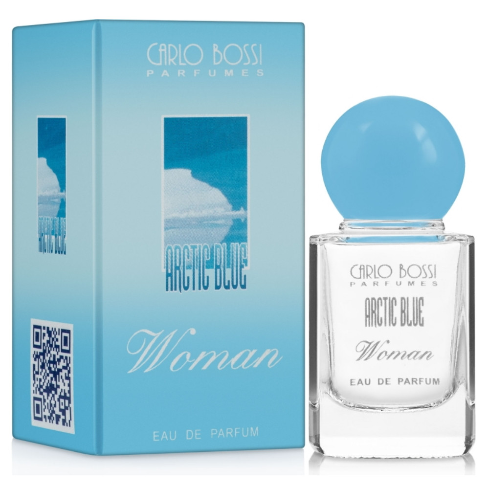 Парфюмерная вода для женщин Carlo Bossi Arctic Blue Woman мини 10 мл (01020100701)