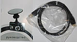Відеореєстратор 2.7 Inch BL800 Car DVR with Dual Cameras 180 Degree Wide, фото 5
