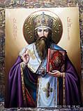 Икона писаная Святителя Василия Великого 50*40 см, фото 2