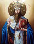 Икона писаная Святителя Василия Великого 50*40 см, фото 3